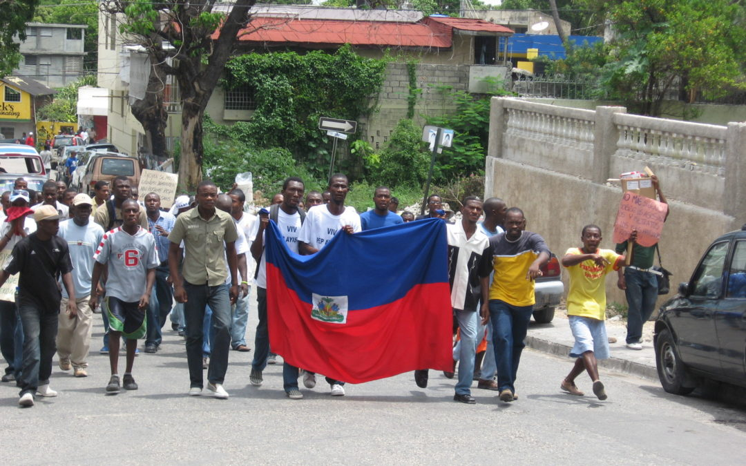 Haiti : the people demand accountability regarding the use of public funds